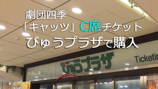 JR東日本びゅう劇団四季チケット