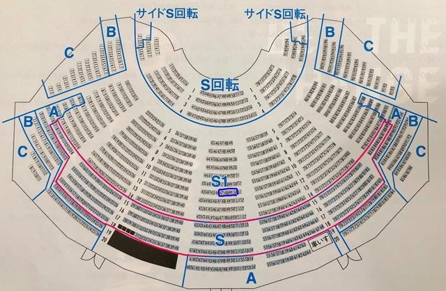 TASAKI キャッツ観劇ツアー座席