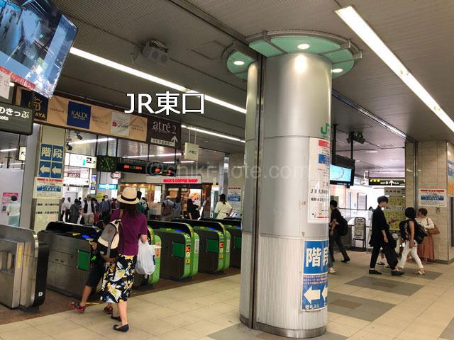 JR大井町駅東口