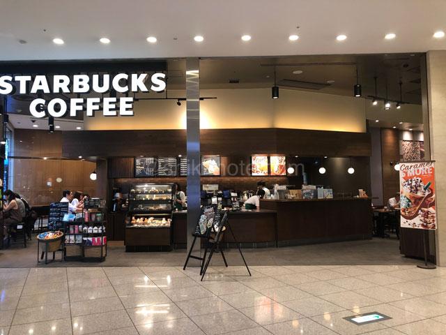 汐留シティセンタースターバックスコーヒー
