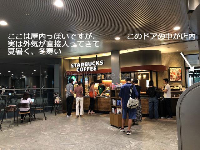 スターバックスコーヒーカレッタ汐留店