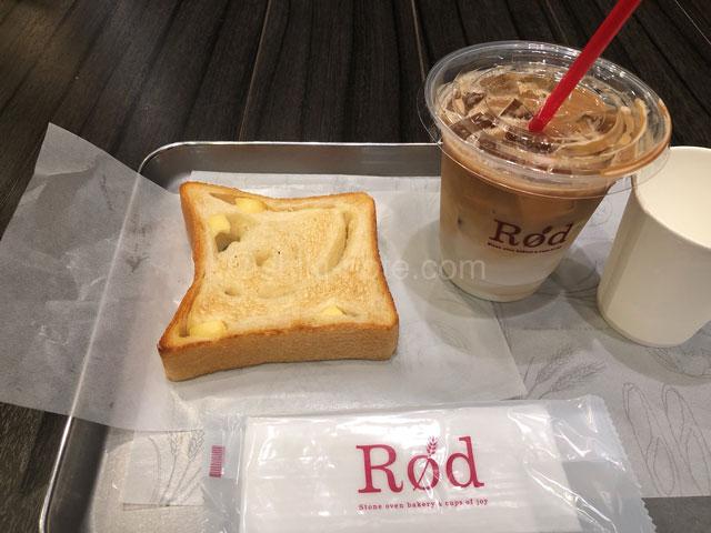 ROD東京店モーニングセット