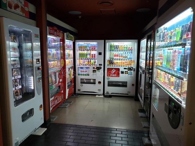 熊本県立劇場自動販売機